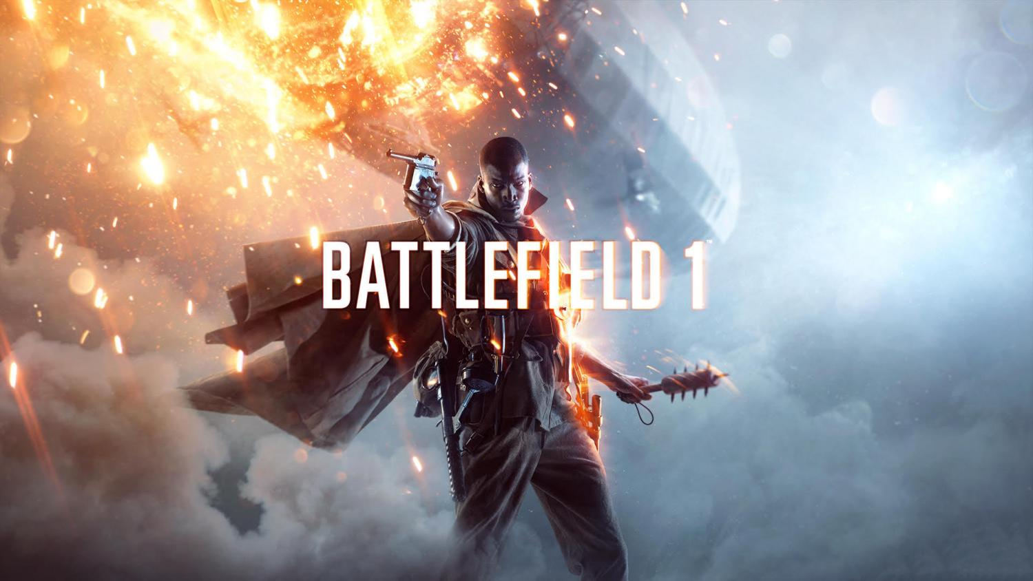 Official Battlefield 1 Cover Photo.  Image provided by EA DICE, the official developer of Battlefield 1.