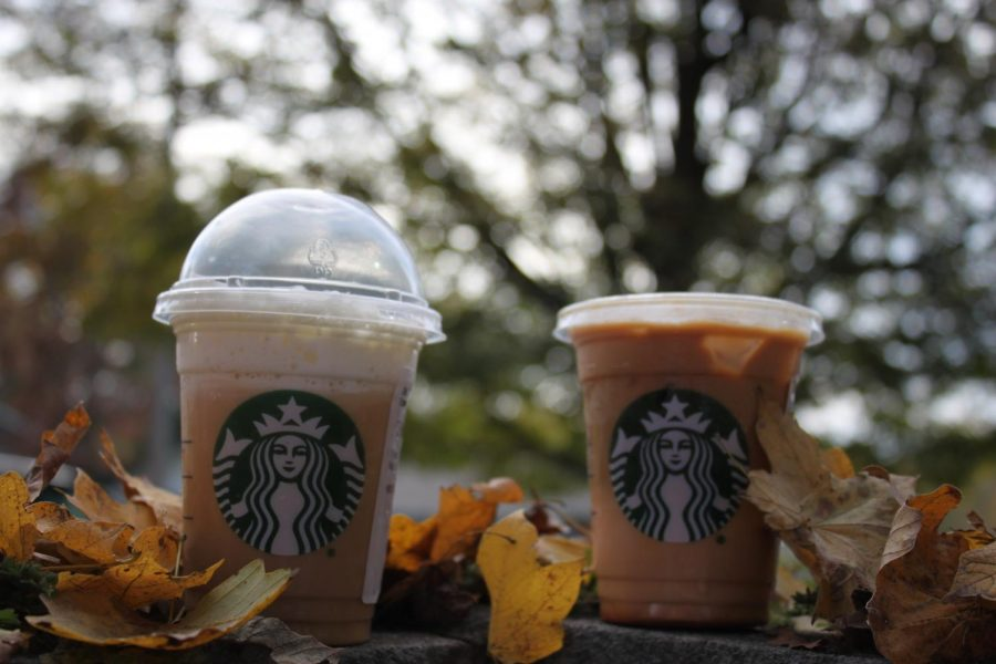 The+Pumpkin+Spice+Frappuccino+and+the+Caramel+Macchiato