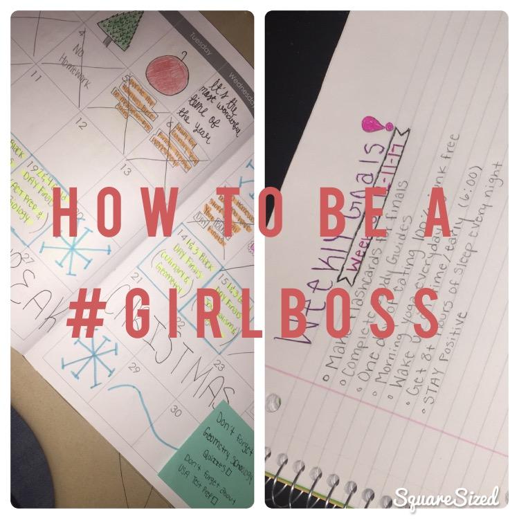 How to be a #Girlboss