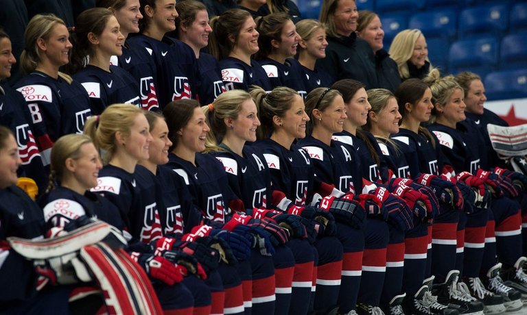 Women's Hockey: Not Only for the Olympics