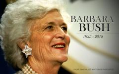 In Memory of Barbara Bush