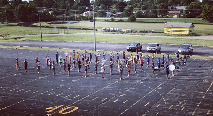 This+is+our+band+on+the+%22field%22+during+band+camp+before+the+school+year+started.%28picture+taken+by+Mrs.+Collins%29