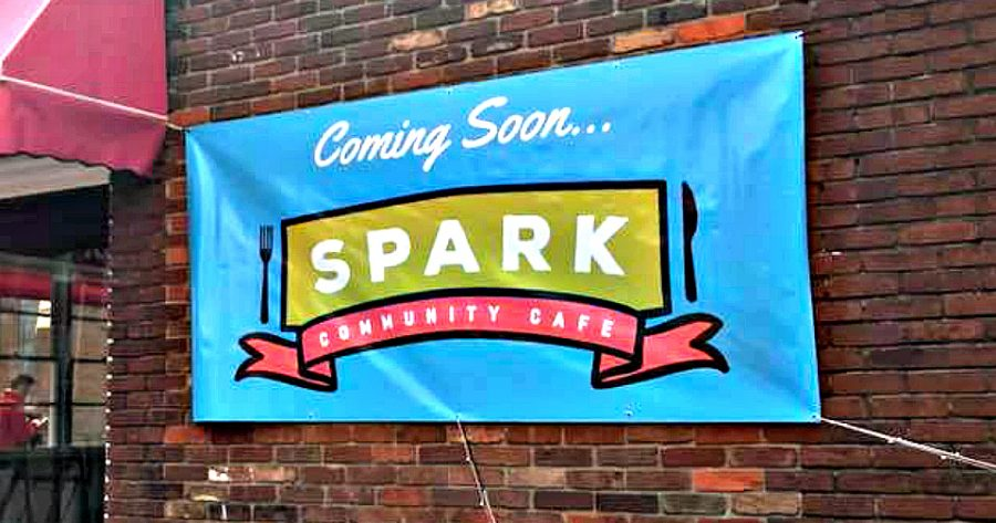 Spark cafe, downtown Versailles. Credit to Kentucky Farm Berea.