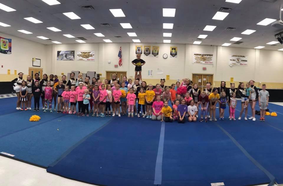 Little Cheerleaders Making Big Moves