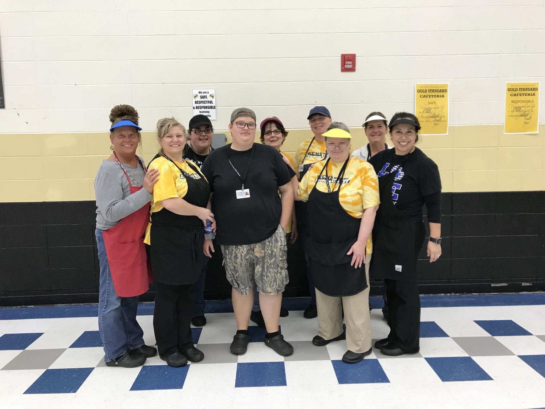 WCHS Food Service staff.
