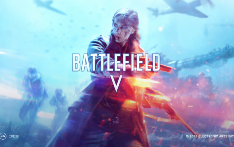 Battlefield V's title screen. Picture taken by Grant Sprinkle