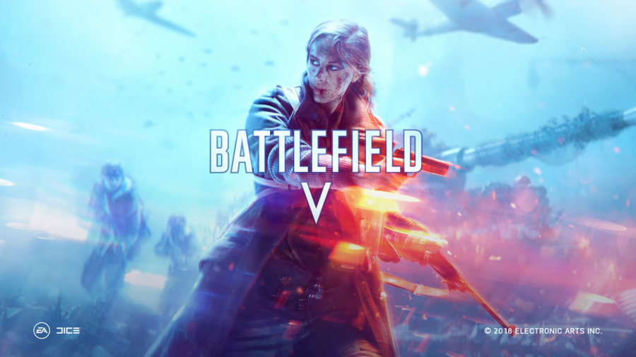 Battlefield+V%27s+title+screen.+Picture+taken+by+Grant+Sprinkle