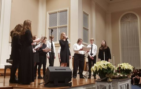 High School Choirs Shares Holiday Cheer For All To Hear