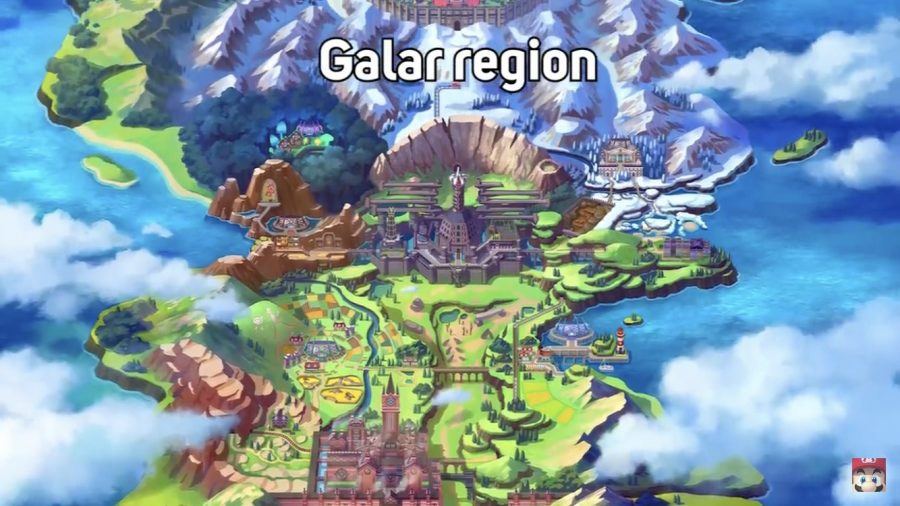 An+overhead+view+of+the+new+Galar+Region.+Screenshot+from+%22Pokemon+Direct+2.27.2019.%22