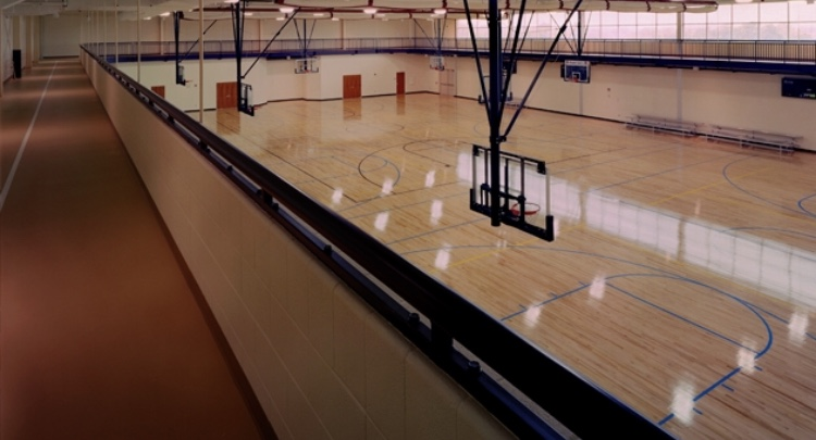 The+basketball+gym+located+at+Falling+Springs