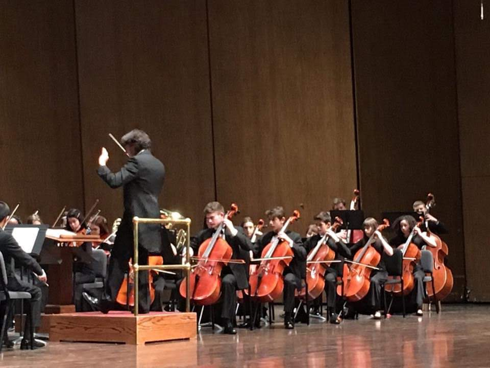 CKYO Students Perform at the Singletary Center.