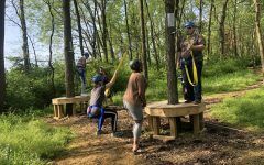 Woodford Leadership of Tomorrow Takes On the Life Adventure Center