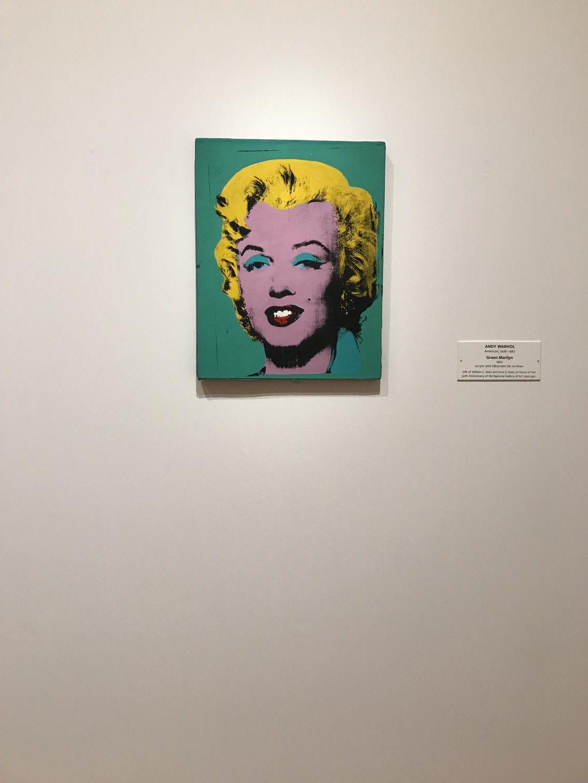 Marilyn+Monroe%2C+a+print+by+Andy+Warhol.+