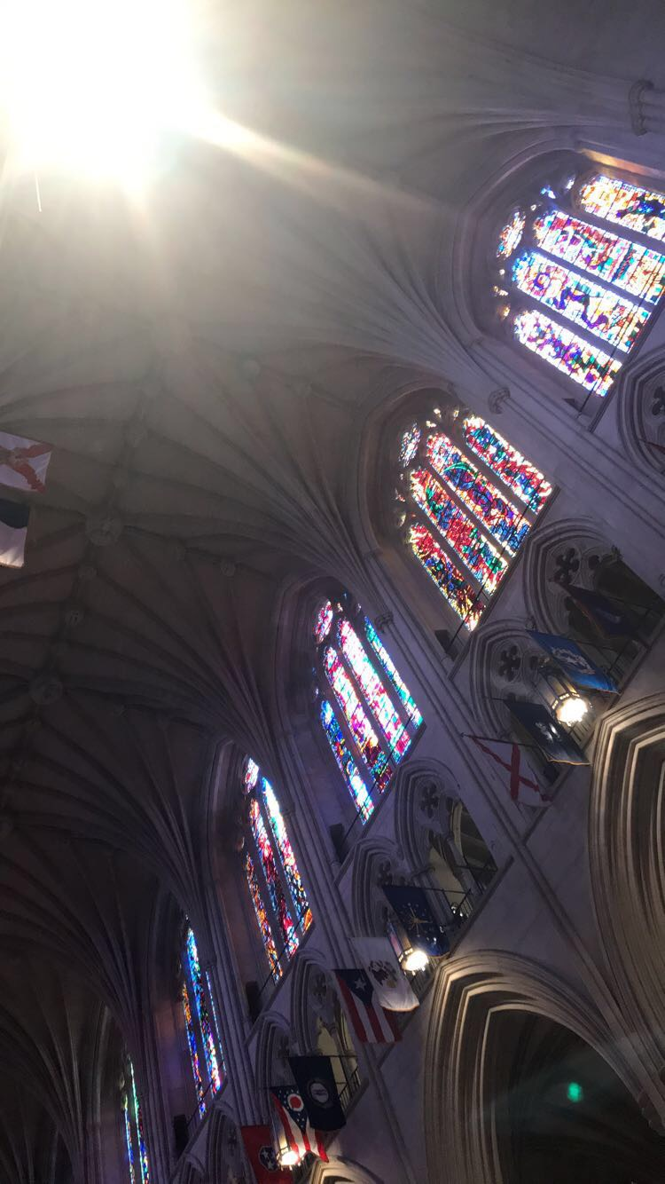 Some+of+the+beautiful+stained+glass+windows+inside+the+Cathedral.+