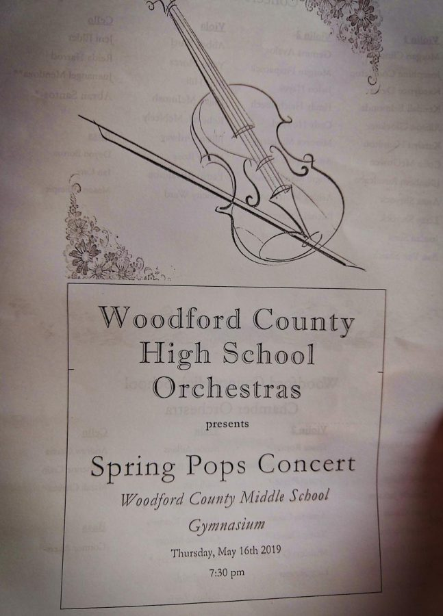 WCHS Orchestra Concert 2019 Highlights!