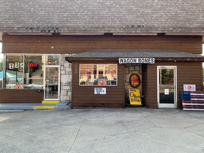 Exterior image of Wagon Bones BBQ.