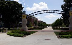 The entrance to Purdue University.