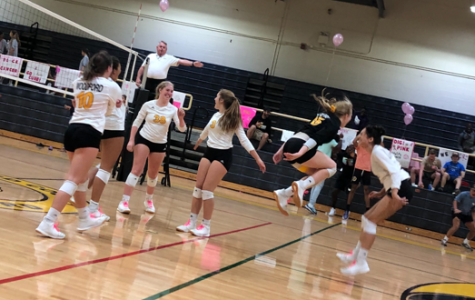 WCHS Volleyball Team Volleys for a Cure