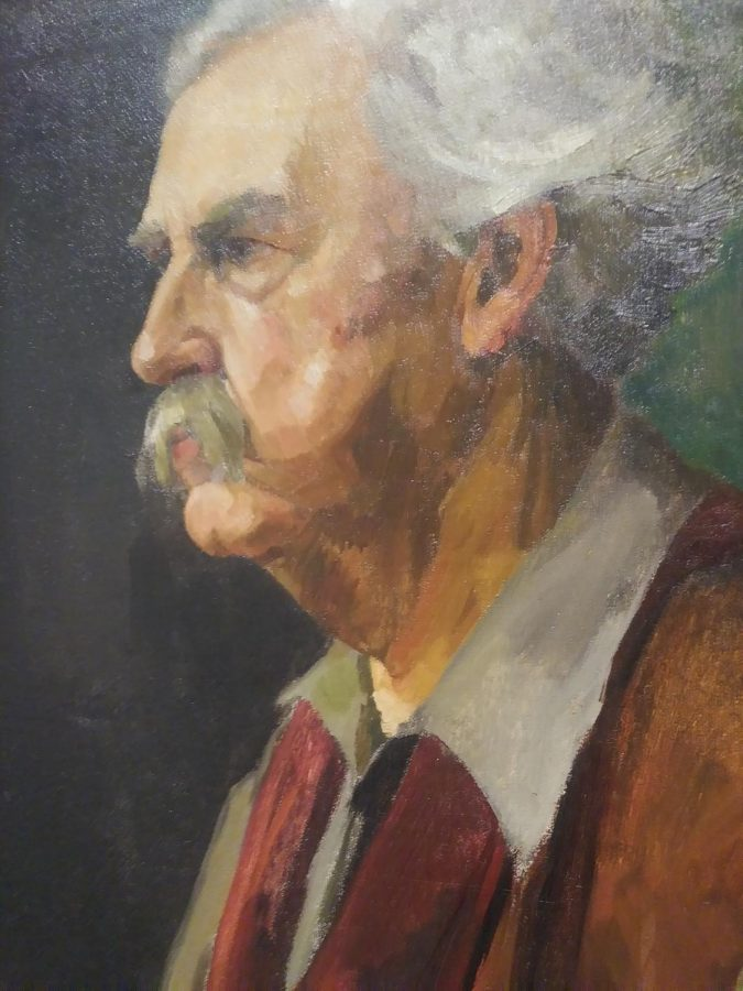 Self-Portrait created by William P. Welsh as part of the TLC, Part II: Conservation and the Collection Exhibition.