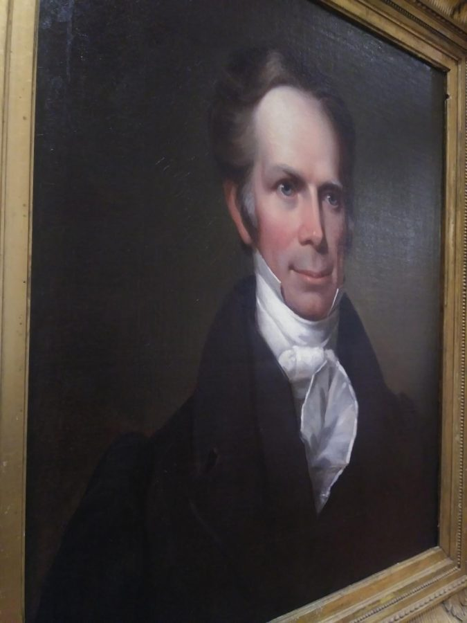 A Portrait of Henry Clay by James Reid Lambdin as part of the TLC, Part II: Conservation and the Collection Exhibition.