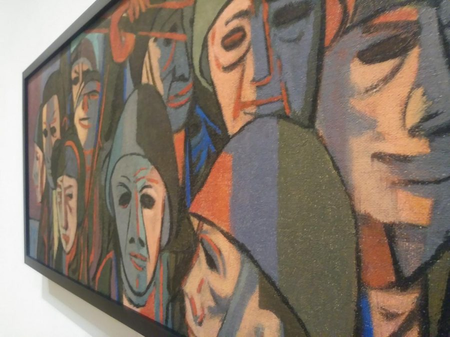 Untitled (Group of Soldiers) created by Clifford Amyxas as part of the TLC, Part II: Conservation and the Collection Exhibition.