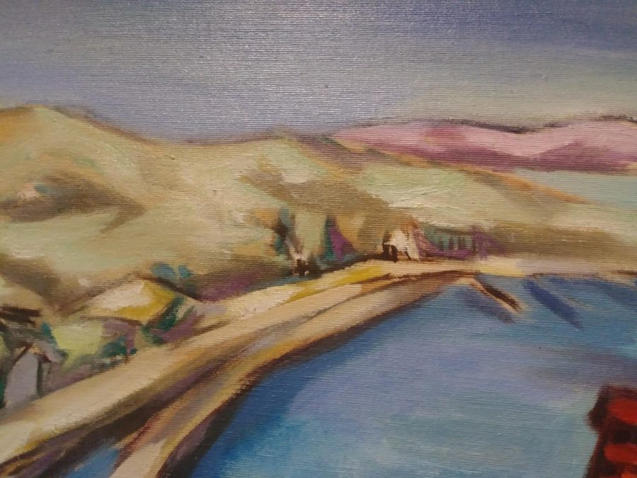 Sausalita, California created by Clifford Amyx an Art Teacher at the University of Kentucky as part of the TLC, Part II: Conservation and the Collection Exhibition.
