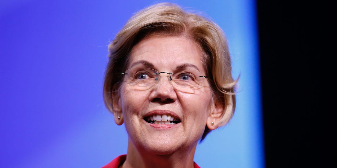 Sen. Elizabeth Warren. Photo by Robert F. Bukaty.