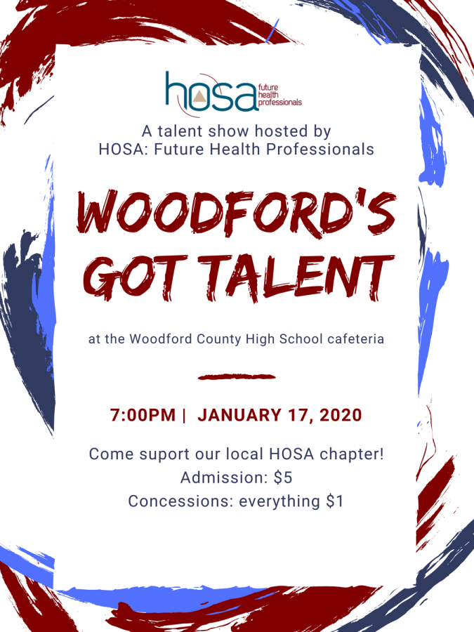 2nd Annual Woodford Talent Show