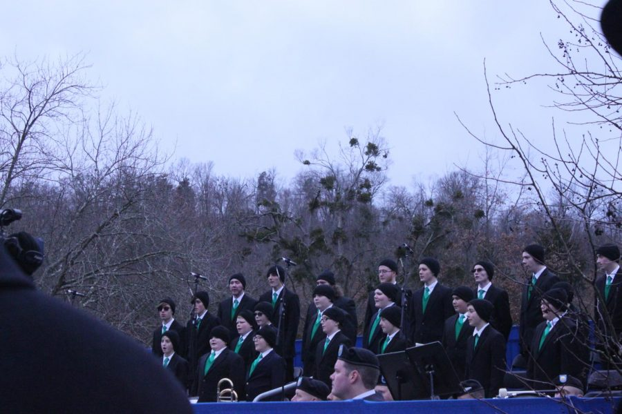 The+Harlan+Boys+Choir+singing+before+the+start+of+the+inauguration.+