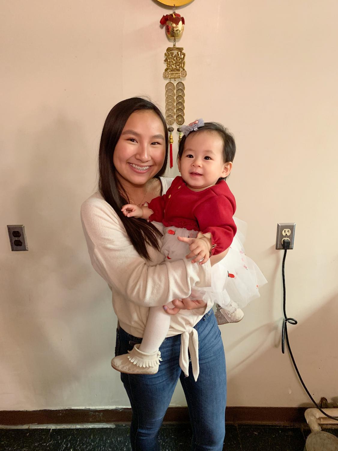 Luna and her cousin's baby are spending all the time they get creating memories before family members leave Kentucky and return to New York.
