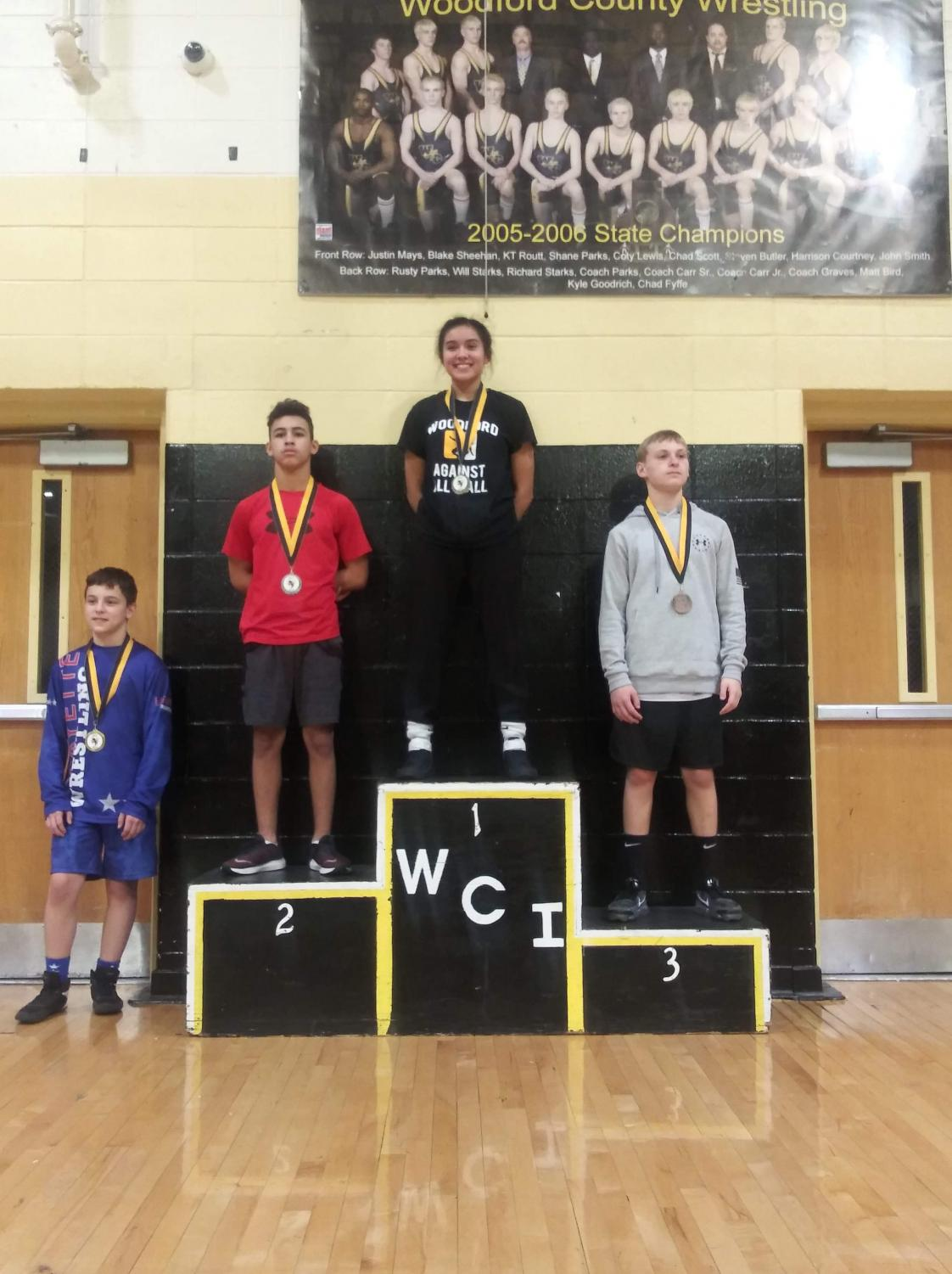 Ashley Courtney places first and is the first woman in history to win WCI.
