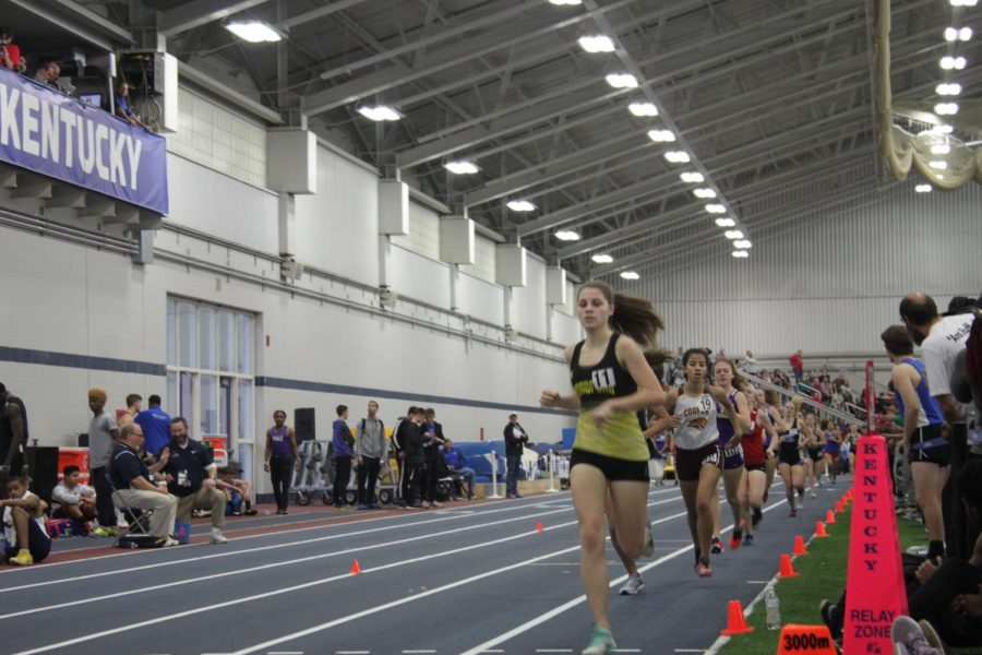 Cassidy+Gilbert+%2810%29+races+in+the+girls+800+meter+run.+Gilbert+finished+with+a+time+of+2%3A40.39.+This+was+Gilbert%27s+third+indoor+track+meet%2C+the+first+of+this+season.+Gilbert+was+initially+nervous+because+she+felt+the+energy+in+the+air%2C+but+she+said%2C+%22After+the+gun+went+off%2C+all+of+my+anxiousness+went+away+and+I+immediately+zoned+in+on+the+race.%22+Gilbert+said+it+was+an+intense+meet%2C+but+she+is+grateful+for+the+experience.+%22It+allows+me+to+see+how+I+compare+to+other+runners%2C+and+to+know+what+the+rest+of+the+season+will+be+like.%22