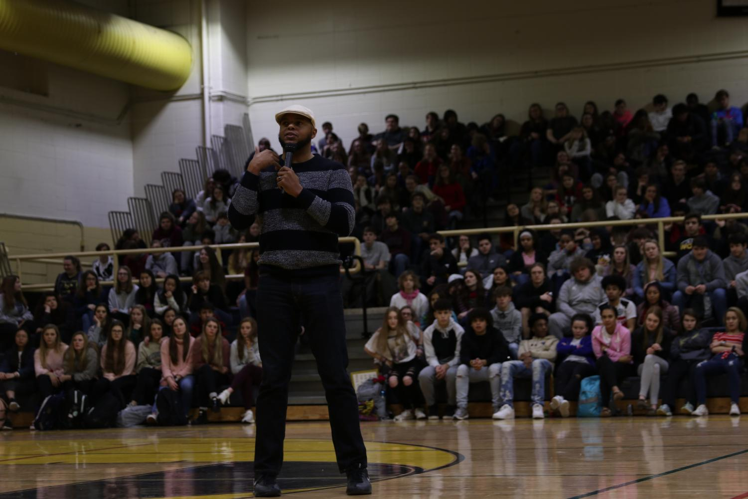 UNITY Assembly: Woodford Brings in Guest Speaker Devine Carama
