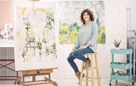 Alex K. Mason Paints Her Way Through Woodford