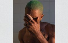 This is the cover of Frank Ocean's album, Blonde.