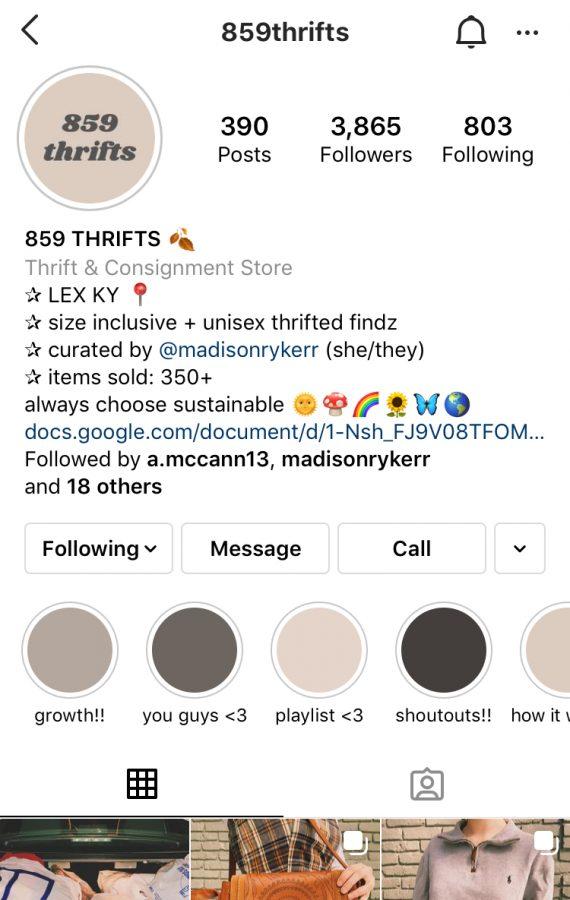 A screenshot of Madison Ryker