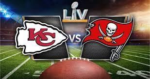 Super Bowl LV: Kansas City Chiefs versus the Tampa Bay Buccaneers