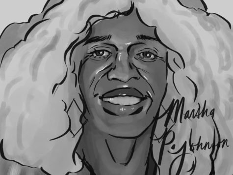 Horizontal Marsha P. Johnson Portrait
