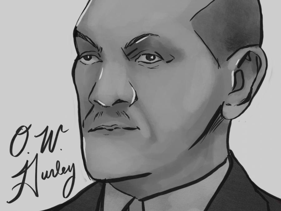 Horizontal O. W. Gurley Portrait