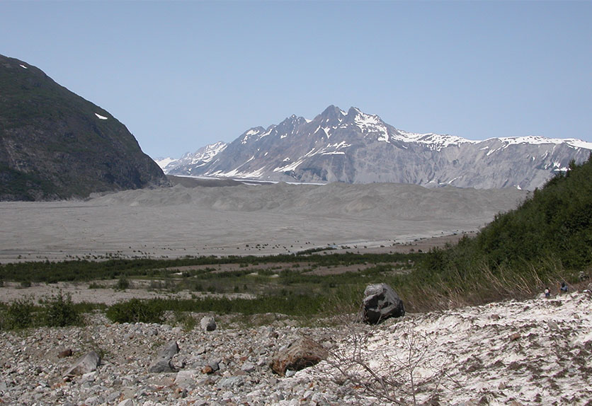 Carroll Glacier in Alaska.