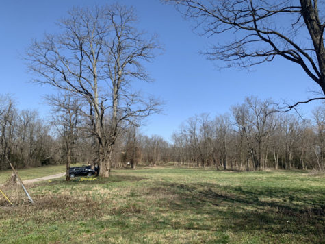 The current Huntertown park site. Come August, this will be a bustling park for the whole community.