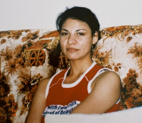 A picture of my mother, a female immigrant.