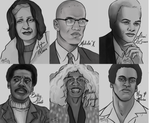 Black History Figures Portrait Collage