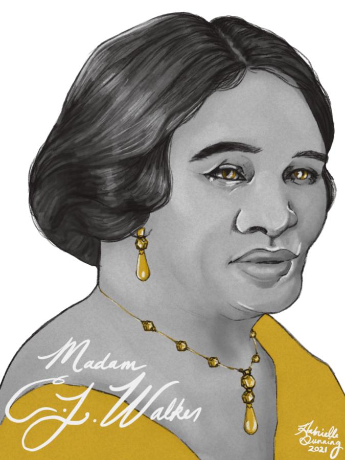 Madam+C.+J.+Walker+Portrait