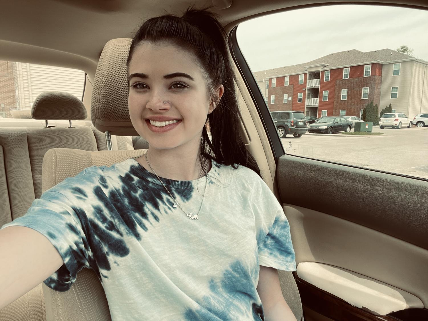 Nicole King smiling for a picture in Versailles, Ky.