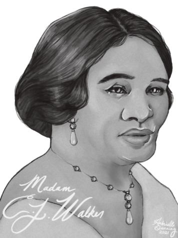 Madam C. J. Walker Portrait