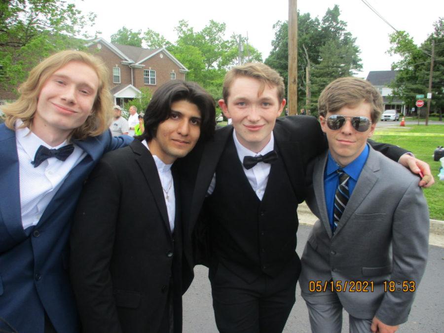 Landon Drane, Victor Avalos Lopez, Jonathan Younger, and Caleb Standley.