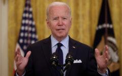 President Biden in the White House.